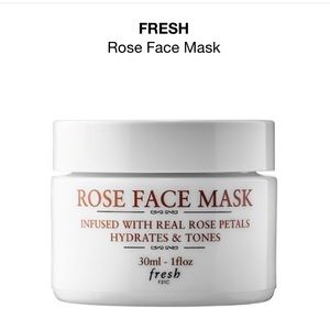 """Fresh"" Rose Face Mask"